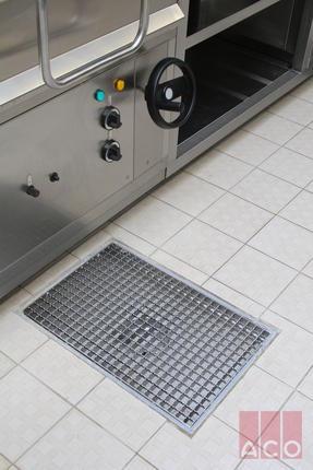 ACO rozsdamentes Tálcás összefolyó 400x600 mm méretben