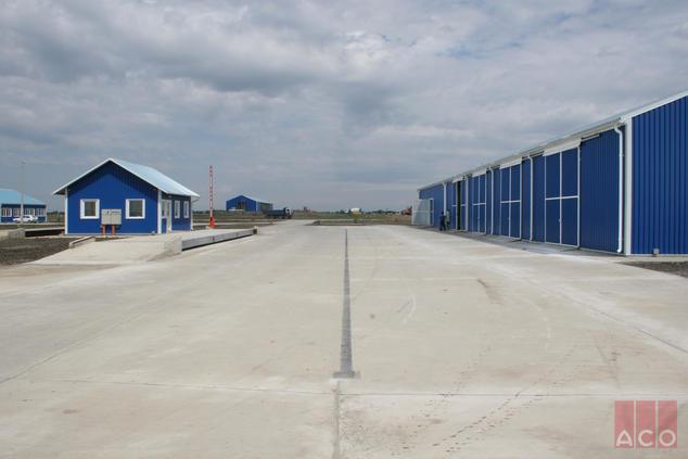 Kétpói hulladéklerakó logisztikai egység vízelvezetése MultiLine V100S folyókával