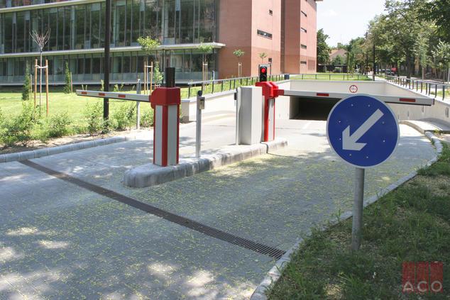 Szegedi TE vízelvezetése ACO folyókával